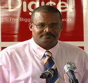 Emmanuel Nanthan- President of the Dominica Cricket Association (DCA)