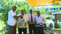40 FARMERS FROM MORNE PROSPER RECEIVES TOOLS FROM JCCP